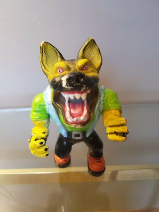 Vintage 1996 Muscle Mutts Street Wise Designs Sugar Tooth Figure Toy Dog - Rare