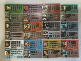 Rare Star Wars Epic Duels Board Game 2002 - Replacement Character Charts All 12