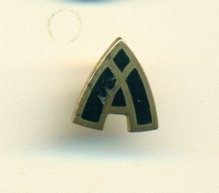 Rare Vintage Lambda Chi Alpha Fraternity Early Version Pledge Button Pin - Wow