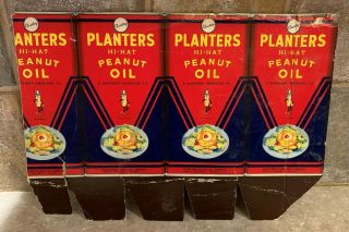 Rare Planters Peanut Oil Display Box Sheet From 1940s?