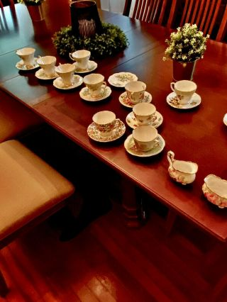 Bone China Tea Cups And Saucers Made In England
