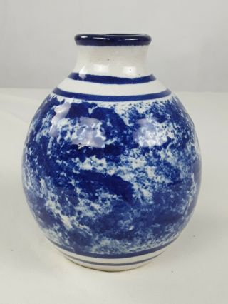 China Moon Blue Ceramic Vase B3