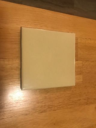 Vintage Tile,  Yellow Made By National Lifetime Tile.  Size Is 4x4.  In 4s.