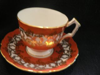 Tea Cup And Saucer Bone China Aynsley