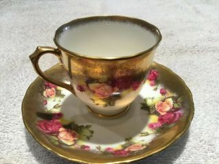 Chelsea Stoffo Antique Teacup And Saucer England