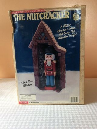Accents Unlimited Wee Crafts Kit 21624 The Nutcracker 100 Complete Very Rare