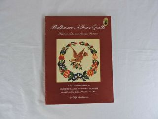 Baltimore Album Quilts: Historic Notes And Antique Patterns By Elly Sienkiewicz