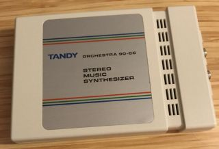 Tandy Orchestra 90 Stereo Music Synthesizer Color Computer 26 - 3143 Rare Item