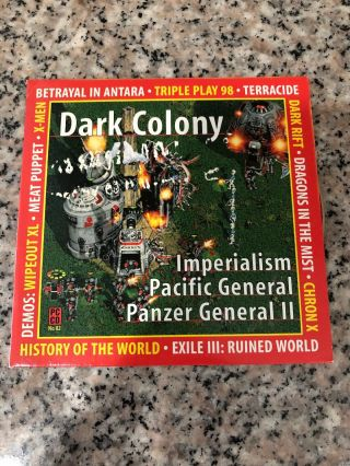 Rare Pc Cd Dark Colony Imperialism Pacific General Panzer General Ll Many More