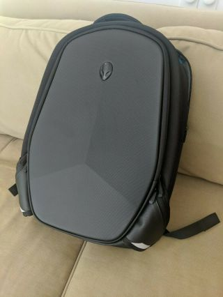 Rare Black Alienware 17 - Inch Backpack Computer Protection Hard