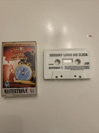 Amstrad Cpc Rare Gregory Loses His Clock - Complete - Fully And