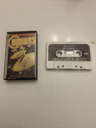 Amstrad Cpc Rare Chronos - Complete - Fully And