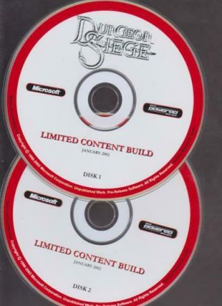 Dungeon Siege Pre - Release Pc Cd Hack Slash Action Combat Role - Playing Game Rare