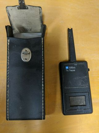 Tic 300cc Tic Tracer With Case Tif Capacitor Test Meter