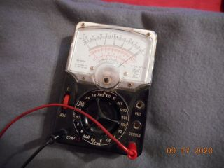 Vintage Lafayette Industrial Multimeter Analog Model 99 - 50734,