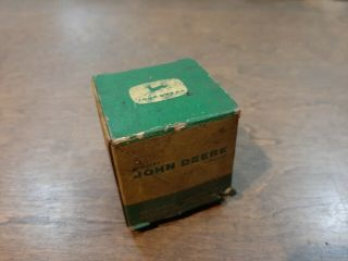 Antique Old John Deere Part No.  (m 3340 T) Bowl Fuel Filter Nos Box
