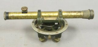 Keuffel & Esser Antique Brass Transit Level