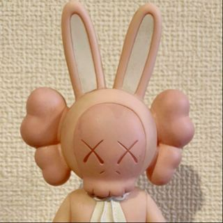Rare Kaws Accomplice Medicom Toy Pink Version Without Box 2002 Easter