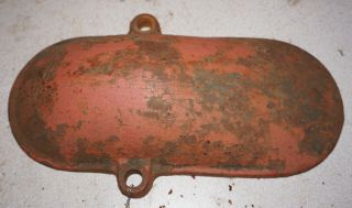 "Antique Vintage Crank Cover Witte 3 Hp "" J """