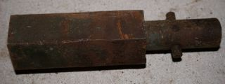 Antique Vintage Wisconsin Engine Long Flywheel Crank Nut