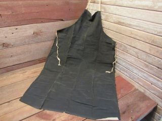 Vintage Rare Quincy Specialties Company Welding Blacksmith Carpenter Apron