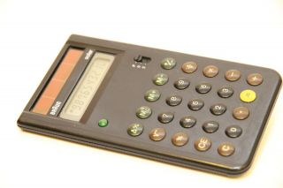 Vintage Braun Solar Calculator Ag 930 Type: 4777 Automatic Off Rare Collectible