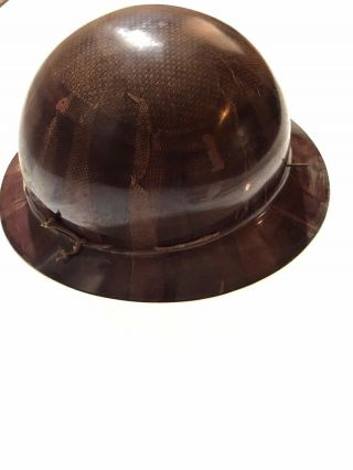 Vintage Msa Skullgard Hard Hat Usa Made Rare Union