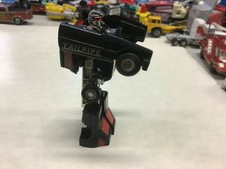 Vintage Bandai 1984 Tonka Rs - Turbo Tailpipe Gobots,  Machine Robo Mr - 42 Rare