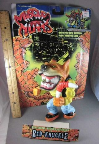 Muscle Mutts Bronzer Complete Street Wise Designs 1996 Rare Dog Fig Street Shark