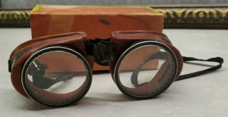 Antique Wison Safety Goggles