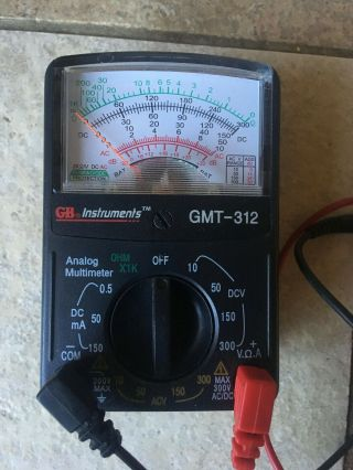Gardner Bender Gmt - 312 Analog Multimeter