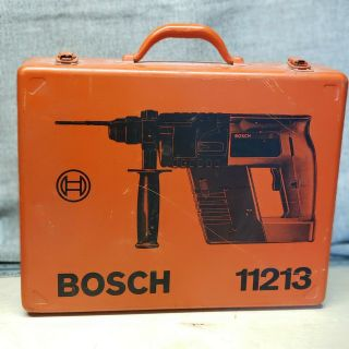 Bosch 11213 Hammer Drill Carrying Case | Metal | Rare Find | Tool Enthusiast