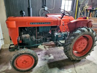 Kubota L210 1972 Antique Farm Tractor - Extremely Rare
