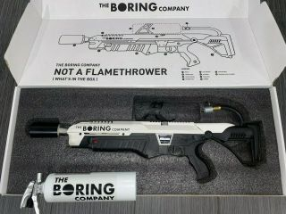 Rare The Boring Company Not A Flamethrower,  Boring Fire Extinguisher