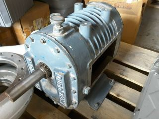 Duroflow Rotary Blower 4509vt 4509 - Vt Positive Displacement Ggdcada Rare $1899
