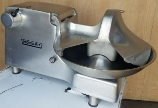 "Rare & 115v Hobart Model 84186 - 1 18 "" Commercial Buffalo Chopper W/ 12 Hub"