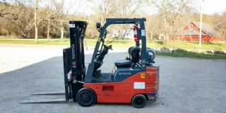 2010 Toyota 3700 Lb Lpg Forklift 8fgcsu20 Side Shift Rare Narrow Low Hr