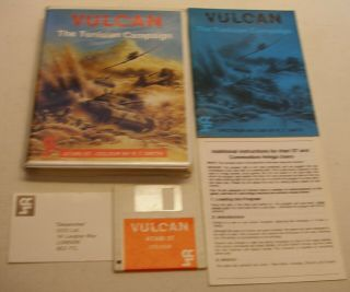 Highly Rated (9.  3),  Very Rare,  Vulcan: The Tunisian Campaign For Atari St