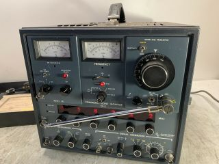 Cushman Communications Monitor Ce - 5 W/ 302 306e Rare Cool Collectible Test Eq