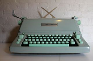 Rare Hermes Ambassador B1 - C Typewriter 1960's.  The Rolls Royce Of Typewriters