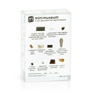 Mini Museum - 1st Edition (small - 11 Specimens) - Extremely Rare - 683/750