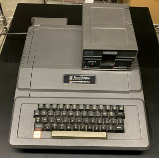 """Apple Ii """"darth Vader"""" Edition Bell & Howell 3048d Computer,  Disk Ii Drive Rare"""