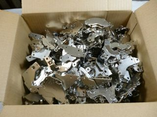19,  Lbs Neodymium Rare Earth Hard Drive Magnets Scrap - Mixed From Older Hd