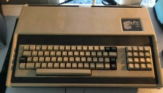 Rare Exidy Sorcerer Ii Computer / Vintage Obscure With Basic Cartridge Dp - 1000 - 2