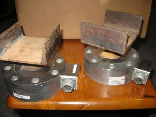 Rare Omega Omegadyne Pancake Style Load Cell Pn - Lchd - 7.  5k / 0 - 7500 Lbs