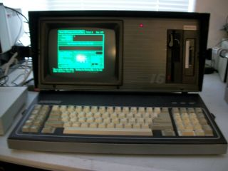 Kaypro 16/2e With 4gb Cf Card Tons Of Software,  Very Rare In.