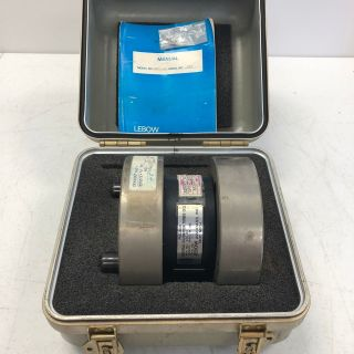 Calibration Torque Cell Transducer 2351 102 Lebow 36k In Lbs W/ Case Rare