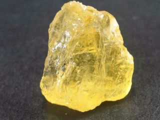 Rare Etched Gem Heliodor Crystal From Brazil 24.  1 Carats