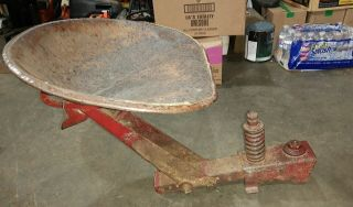 1939 Farmall Ih M Tractor Correct Seat Assembly Frame & Ihc Nut Rare H Seat 39