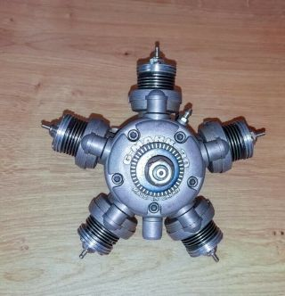 G - Mark Five 5 Cylinder Radial Engine - Very Rare